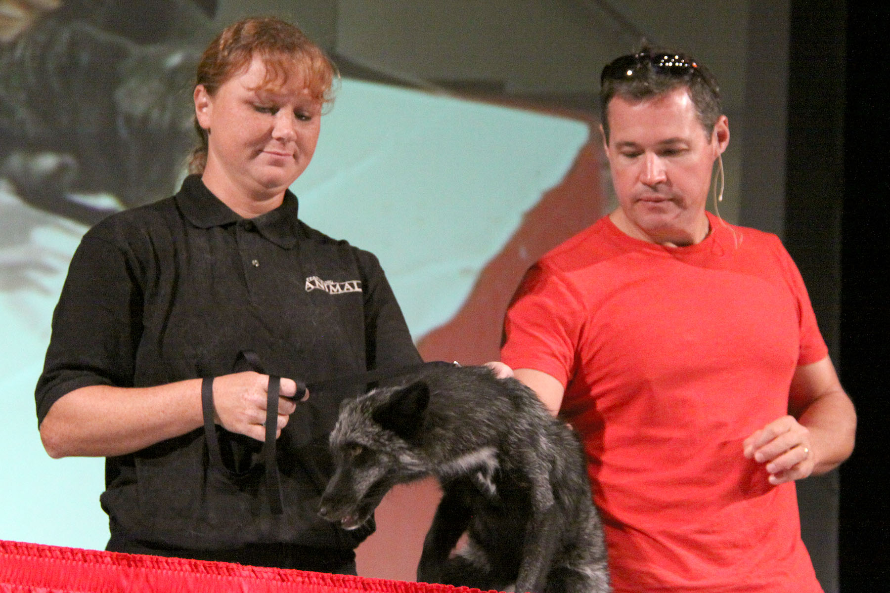 Dante, Renee, and Jeff Corwin - 09-2013